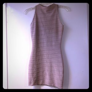 Windsor Tan Body Con Dress